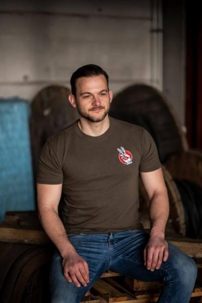 T-Shirt DE oliv