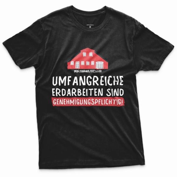 T-Shirt Fehnhaus Erdarbeiten
