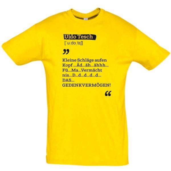 Udo Duden Shirt Schläge