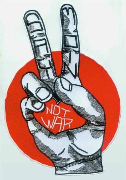 Patch Say Moin Not War zum aufbügeln/aufnähen